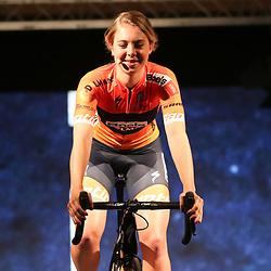19-01-2017: Wielrennen: Persmoment Boels Dolmans: Valkenburg   <br />VALKENBURG (NED) wielrennen<br />In Chateau Sint Gerlach waar de groten der aarde overnachten presenteerde het Boels-Dolmans Womens Cyclingteam zich aan pers en genodigden. Jip van den Bosch