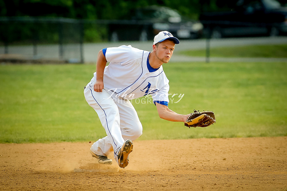 May 20, 2014.  <br /> MCHS Varsity Baseball vs Warren County.  Madison defeats Warren 5-1.