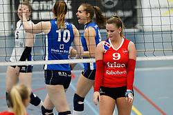 20170430 NED: Eredivisie, VC Sneek - Sliedrecht Sport: Sneek<br />Nienke Tromp (9) of VC Sneek <br />&copy;2017-FotoHoogendoorn.nl / Pim Waslander