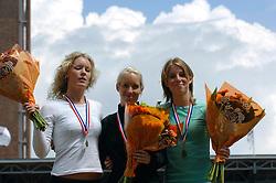 01-07-2007 ATLETIEK: NK OUTDOOR: AMSTERDAM<br /> Susanne Dekkers , Tamara Ruben en MANDERS Marlies<br /> ©2007-WWW.FOTOHOOGENDOORN.NL