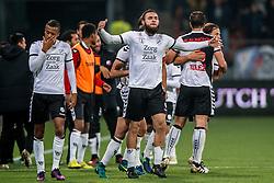 26-10-2016 NED: KNVB beker FC Utrecht, - Fc Groningen, Utrecht<br /> FC Utrecht heeft zich geplaatst voor de achtste finales van de KNVB-beker. De verliezend finalist van vorig seizoen rekende in stadion Galgenwaard af met FC Groningen, bekerwinnaar in 2015 / Het enige doelpunt werd in blessuretijd gemaakt door Nacer Barazite
