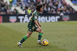 February 10, 2019 - Madrid, Madrid, Spain - Real Betis Balompie's Diego Lainez during La Liga match between CD Leganes and Real Betis Balompie at Butarque Stadium in Madrid, Spain. February 10, 2019. (Credit Image: © A. Ware/NurPhoto via ZUMA Press)