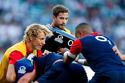 England replacement Danny Cipriani warms up - Mandatory byline: Rogan Thomson/JMP - 07966 386802 - 15/08/2015 - RUGBY UNION - Twickenham Stadium - London, England - England v France - QBE Internationals 2015.