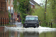 General Views of Tewkesbury  on May 1st 2012 as UK record rainfall causes flooding..Photo Times Photographer /Ki Price .....