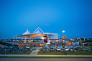 Opening night at the Walmart AMP Pavilion with Blake Shelton on Saturday June 7, 2014 in Rogers, Arkansas