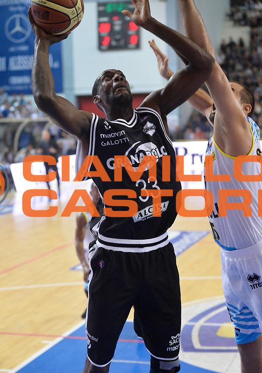 DESCRIZIONE : Cremona campionato serie A 2013/14 Vanoli Cremona-Granarolo Virtus Bologna<br /> GIOCATORE : Shawn King<br /> CATEGORIA : tiro penetrazione<br /> SQUADRA : Granarolo Virtus Bologna<br /> EVENTO : Campionato serie A 2013/14<br /> GARA : Vanoli Cremona-Granarolo Virtus Bologna<br /> DATA : 20/10/2013<br /> SPORT : Pallacanestro <br /> AUTORE : Agenzia Ciamillo-Castoria/R. Morgano<br /> Galleria : Lega Basket A 2013-2014  <br /> Fotonotizia : Cremona campionato serie A 2013/14 Vanoli Cremona-Granarolo Virtus Bologna<br /> Predefinita :