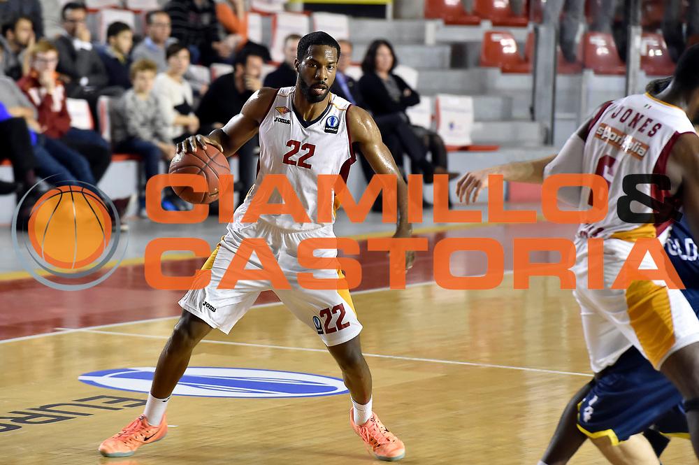 DESCRIZIONE : Eurocup 2014/15 Acea Roma Ewe Basket Oldenburg<br /> GIOCATORE : Kyle Gibson<br /> CATEGORIA : palleggio<br /> SQUADRA : Acea Roma<br /> EVENTO : Eurocup 2014/15<br /> GARA : Acea Roma Ewe Basket Oldenburg<br /> DATA : 12/11/2014<br /> SPORT : Pallacanestro <br /> AUTORE : Agenzia Ciamillo-Castoria /GiulioCiamillo<br /> Galleria : Acea Roma Ewe Basket Oldenburg<br /> Fotonotizia : Eurocup 2014/15 Acea Roma Ewe Basket Oldenburg<br /> Predefinita :