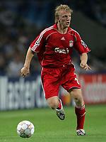 Photo: Paul Thomas.<br /> Porto v Liverpool. UEFA Champions League Group A. 18/09/2007.<br /> <br /> Goal scorer Dirk Kuyt of Liverpool.