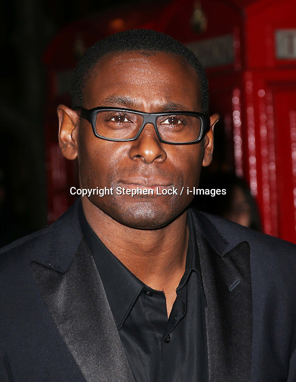David Harewood arriving at the English National Ballet party to celebrate their Christmas production of The Nutcracker, in London , Thursday, December 13th 2012.  Photo by: Stephen Lock / i-Images