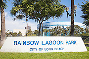 Rainbow Lagoon Park In Long Beach California