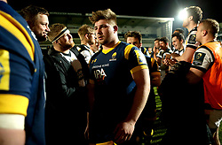 George Newman of Worcester Cavaliers - Mandatory by-line: Robbie Stephenson/JMP - 03/04/2017 - RUGBY - Sixways Stadium - Worcester, England - Worcester Cavaliers v Wasps A - Aviva A League