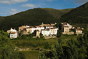 Peroblasco village in La Rioja Province Spain