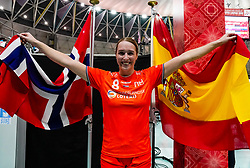 13-12-2019 JAP: Semi Final Netherlands - Russia, Kumamoto<br /> The Netherlands beat Russia in the semifinals 33-22 and qualify for the final on Sunday in Park Dome at 24th IHF Women's Handball World Championship / Lois Abbingh #8 of Netherlands