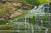 Beamer Falls in Forty Mile Creek. Beamer Memorial Conservation Area<br />Grimsby<br />Ontario<br />Canada