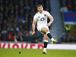 February 10, 2019 - London, England, United Kingdom - Owen Farrell of England .during the Guiness 6 Nations Rugby match between England and France at Twickenham  Stadium on February 10th, 2019 in Twickenham, London, England. (Credit Image: © Action Foto Sport/NurPhoto via ZUMA Press)