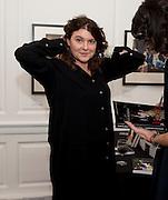 GERALDINE HARMSWORTH, Book launch for Isabella Blow- A Life in Fashion. Book by Lauren Goldstein Crowe. Henrietta St. London. 23 February 2011. -DO NOT ARCHIVE-© Copyright Photograph by Dafydd Jones. 248 Clapham Rd. London SW9 0PZ. Tel 0207 820 0771. www.dafjones.com.