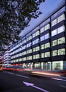 offices, commercial, architecture, building, tottenham, london, england, uk, black brick