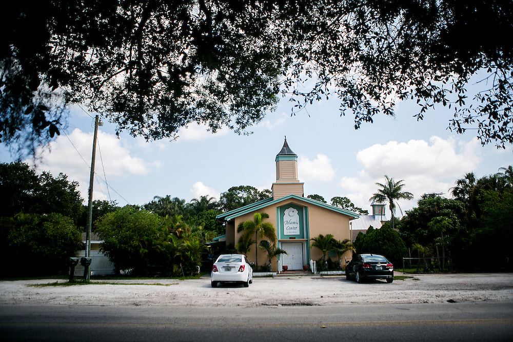 FORT PIERCE, FL - JUNE 13, 2016: General views of the Islamic Center of Fort Pierce in Fort Pierce, Florida. CREDIT: Sam Hodgson for The New York Times.