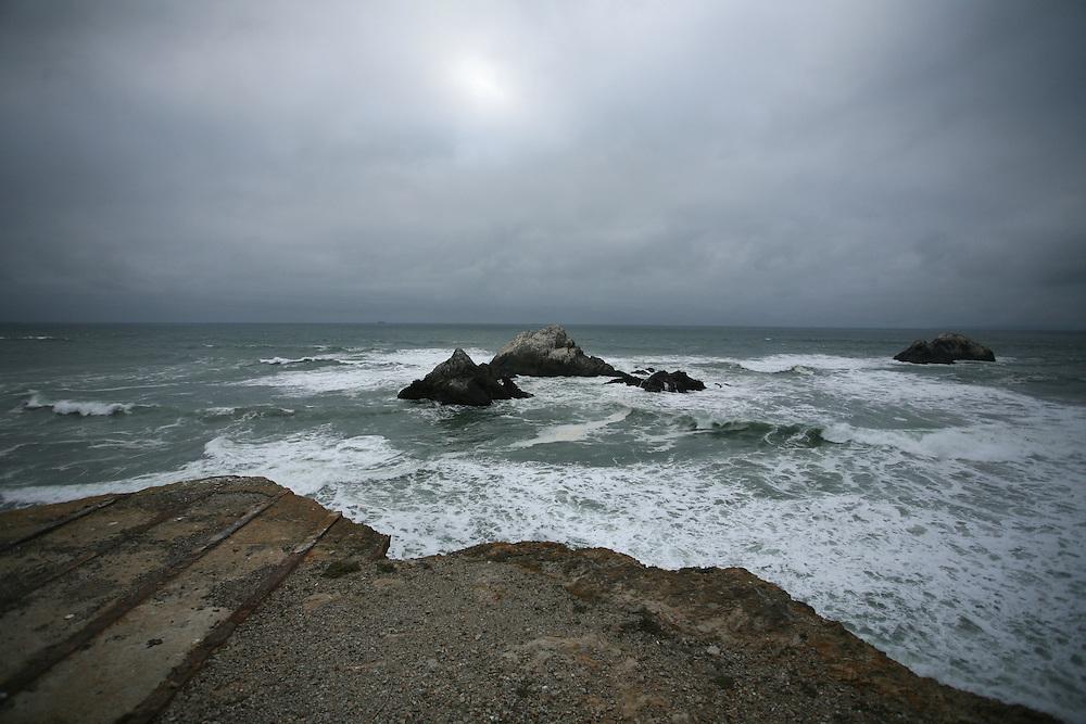 Coast of San Francisco, CA in 2010.