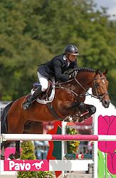 566 - Cidane - Houwen Kristian<br /> 7 Jarige Finale Springen<br /> KWPN Paardendagen - Ermelo 2014<br /> © Dirk Caremans