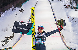 18.03.2018, Vikersundbakken, Vikersund, NOR, FIS Weltcup Ski Sprung, Raw Air, Vikersund, Finale, im Bild Gesamtsieger Kamil Stoch (POL) // Overall Winner Kamil Stoch of Poland during the 4th Stage of the Raw Air Series of FIS Ski Jumping World Cup at the Vikersundbakken in Vikersund, Norway on 2018/03/18. EXPA Pictures © 2018, PhotoCredit: EXPA/ JFK