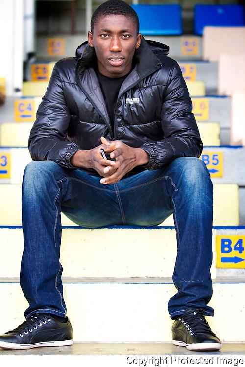 370707-William Owusu, voetballer Westerlo-Kuipke, De Merodedreef Westerlo