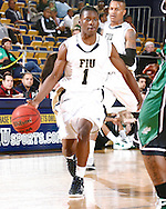 FIU Mens Basketball Vs. North Texas Mean Green at the US Century Bank Arena.  Game was played on Thursday February 9, 2012 in which Mean Grean Defeated FIU.