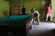 A pool hall in Harar, Ethiopia.