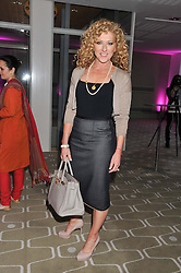 KELLY HOPPEN at a private view of photographs by Joanna Vestey entitled 'Dreams For My Daughter' in aid of The White Ribbon Alliance, held at The Royal Festival Hall, South Bank, London on 8th March 2012.