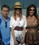 **EXCLUSIVE**.Stephen Baldwin, Helena Houdova and Ella Krasner..Ella Krasner's Lunch to Benefit AMEND..Sponsored by David Morris..2010 Cannes Film Festival..Hotel Du Cap..Cap D'Antibes, France..Monday, May 17, 2010..Photo ByCelebrityVibe.com.To license this image please call (212) 410 5354; or Email:CelebrityVibe@gmail.com ;.website: www.CelebrityVibe.com.