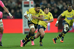 October 28, 2017 - Clermont-Ferrand - Stade Marcel, France - Fritz Lee - Charlie Cassang et Alivereti Raka  (Credit Image: © Panoramic via ZUMA Press)