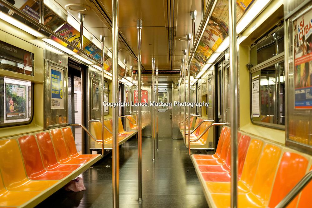 Subway Car, New York City, NYC
