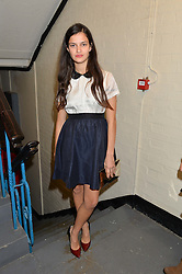 EVANGELINE LING at the OFFtheGRID event - a solar-powered party on a London rooftop to support our renewable energy future hosted by Dame Vivienne Westwood supported by the Trillion Fund at 151-155 New North Road, London N1 on 4th September 2014.