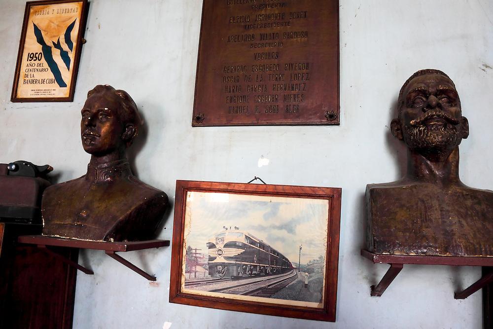 Railway club in Camaguey city, Camaguey, Cuba.
