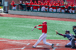 NORMAL, IL - April 08: Derek Parola during a college baseball game between the ISU Redbirds  and the Missouri State Bears on April 08 2019 at Duffy Bass Field in Normal, IL. (Photo by Alan Look)