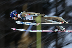 November 19, 2017 - Wisla, Poland - Maciej Kot (POL), competes in the individual competition during the FIS Ski Jumping World Cup on November 19, 2017 in Wisla, Poland. (Credit Image: © Foto Olimpik/NurPhoto via ZUMA Press)
