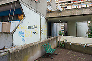 Roma, 02/12/2014: Case popolari in via Giorgio Morandi, Tor Sapienza - <br /> The popular neighborhood of Tor Sapienza.