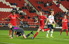 141031 Liverpool U21 v Tottenham U21