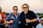 Winemaker Dave Merfeld and Seattle chef Tom Douglas at Northstar Winery's  Club Harvest  Dinner