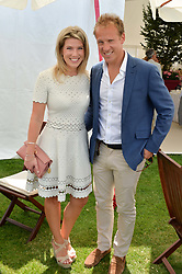 Christopher & Natasha Jackson at Cartier Queen's Cup Polo, Guard's Polo Club, Berkshire, England. 18 June 2017.