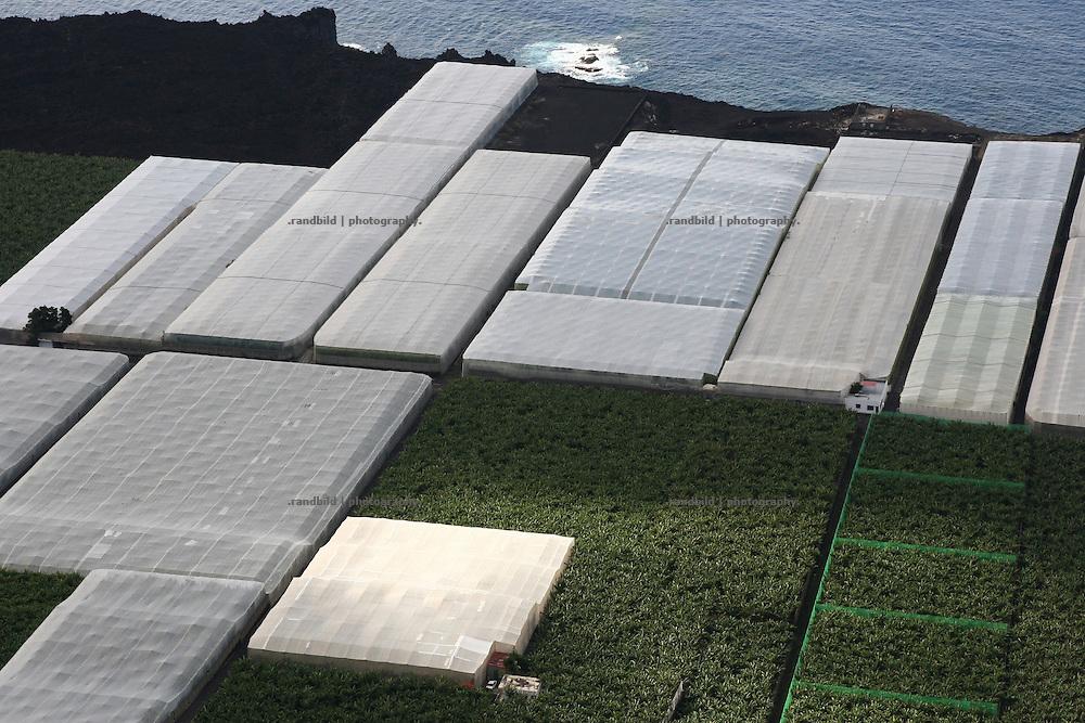La Palma, Kanarische Inseln, bananenplantagen, Atlantischer Ozean,