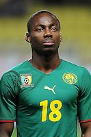 Fussball International, Italienische Nationalmannschaft  Italien - Kamerun 03.03.2010 Enoh Eyong (Kamerun)