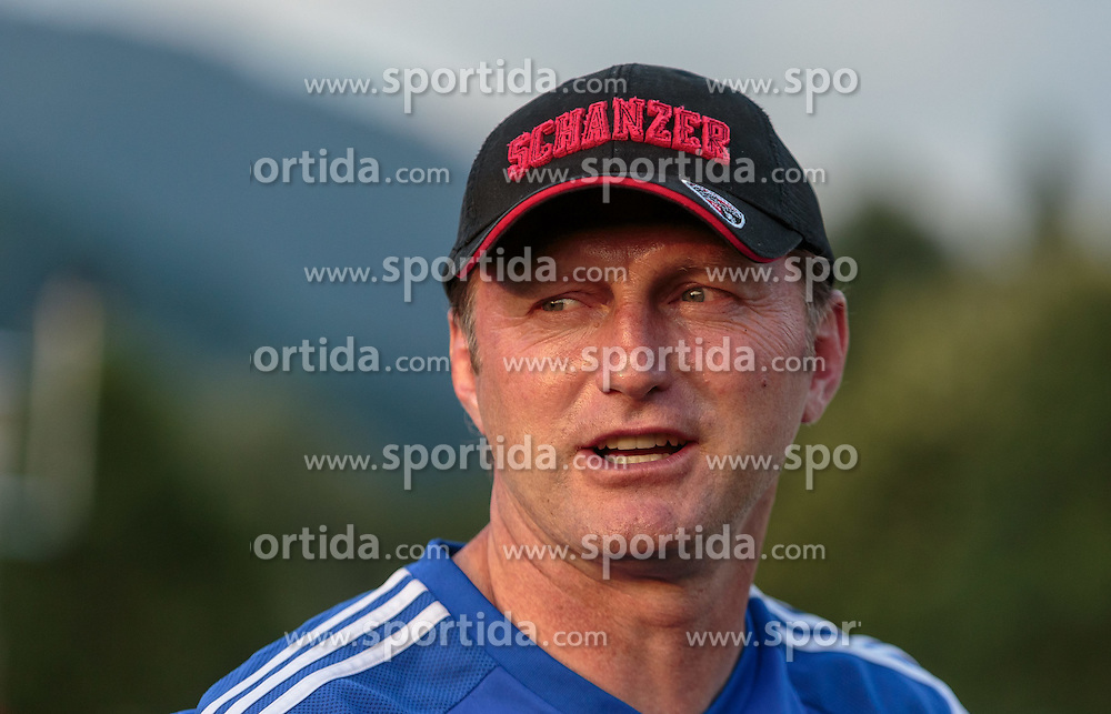 15.07.2015, Waldstadion, Mittersill, AUT, Testspiel, FC Ingolstadt 04 vs FC Zbrojovka Bruenn, im Bild Trainer Ralph Hasenhuettl (FC Ingolstadt) // during the International Friendly Football Match between FC Ingolstadt and FC Zbrojovka Brno at the Waldstadium, Mittersill, Austria on 2015/07/15. EXPA Pictures © 2015, PhotoCredit: EXPA/ JFK