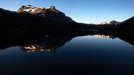 Tioga Lake at sunrise