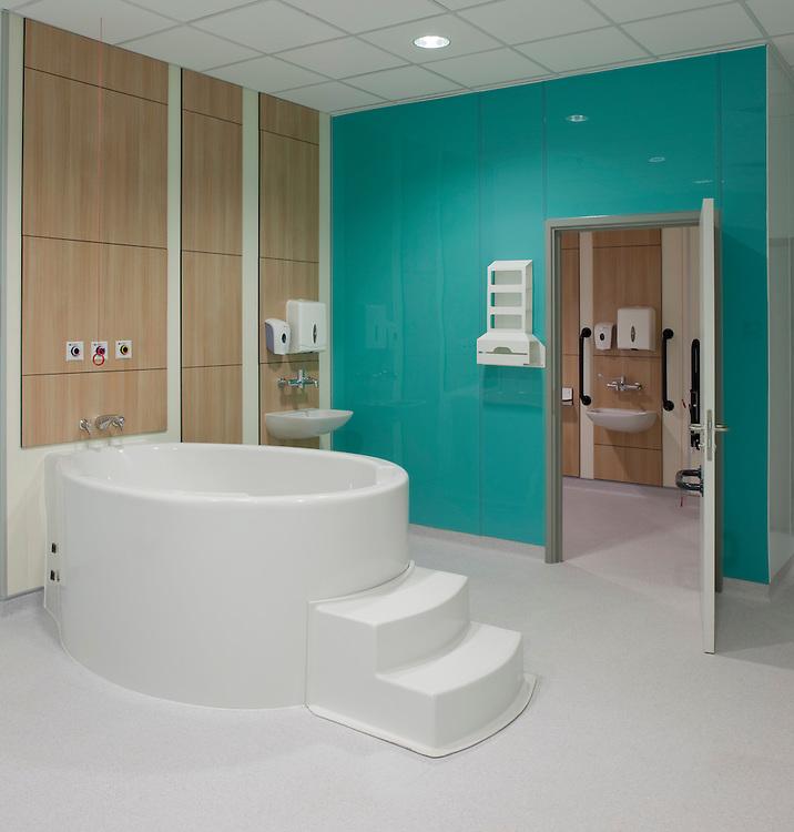 birthing pool at lister hospital, hertfordshire