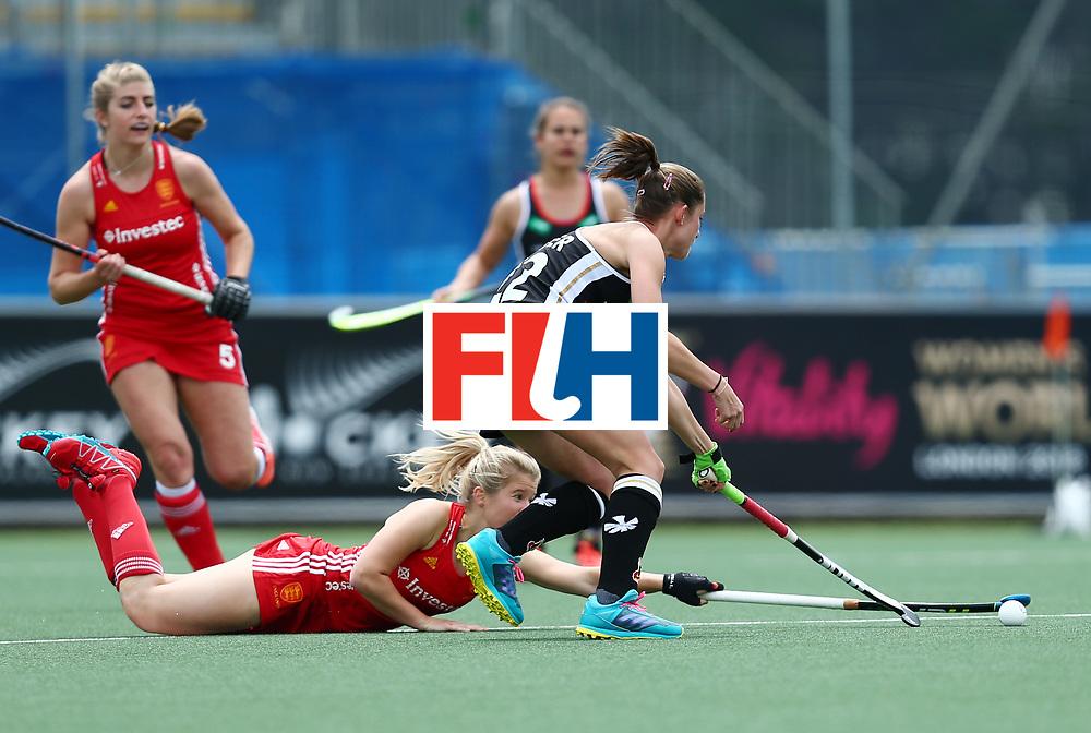 New Zealand, Auckland - 18/11/17  <br /> Sentinel Homes Women&rsquo;s Hockey World League Final<br /> Harbour Hockey Stadium<br /> Copyrigth: Worldsportpics, Rodrigo Jaramillo<br /> Match ID: 10293 - ENG vs GER<br /> Photo:
