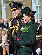 Kate Middleton & Prince William At St Patrick's Day Parade