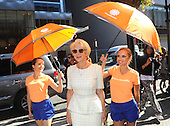 09/15/2015 AccuWeather at New York Fashion Week NYFW