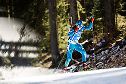 Anastassiya Kondratyeva (KAZ) during the Women 15 km Individual Competition at day 2 of IBU Biathlon World Cup 2019/20 Pokljuka, on January 23, 2020 in Rudno polje, Pokljuka, Pokljuka, Slovenia. Photo by Peter Podobnik / Sportida