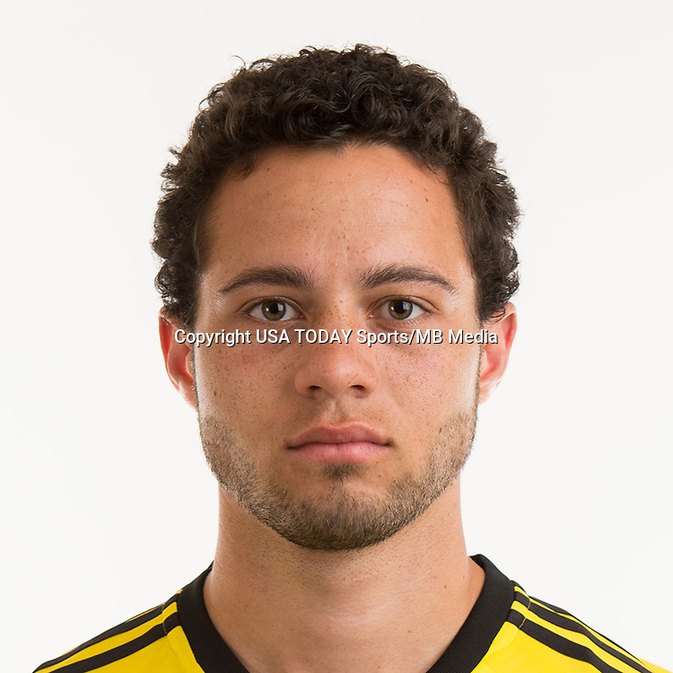 Feb 25, 2017; USA; Columbus Crew SC player Niko Hansen poses for a photo. Mandatory Credit: USA TODAY Sports